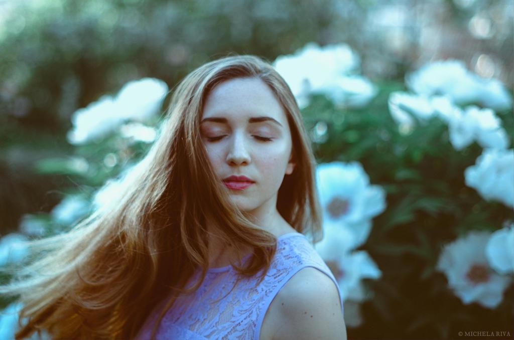 Serena at the Botanical Garden V by Michela-Riva