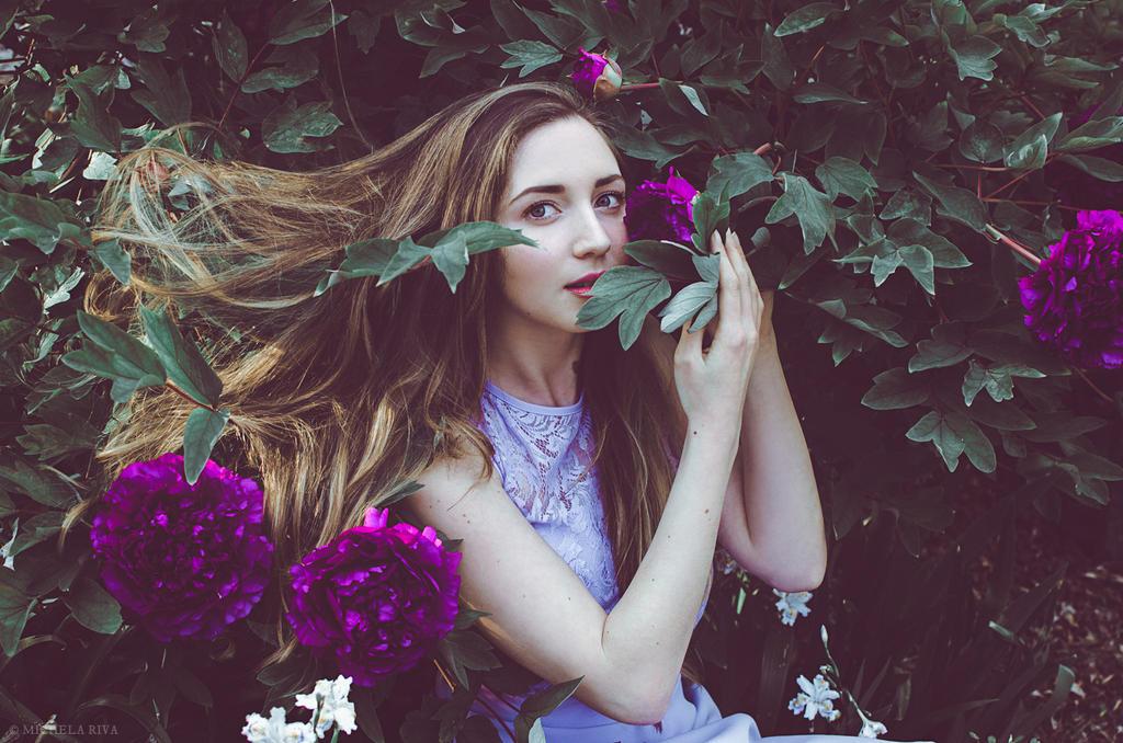 Serena at the Botanical Garden XI by Michela-Riva