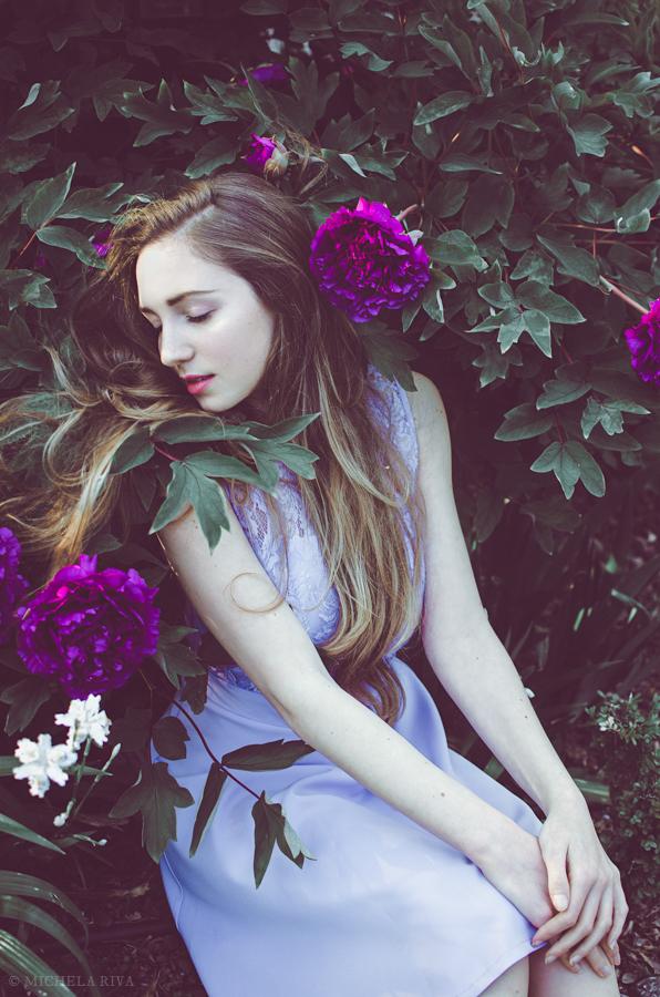 Serena at the Botanical Garden VIII by Michela-Riva