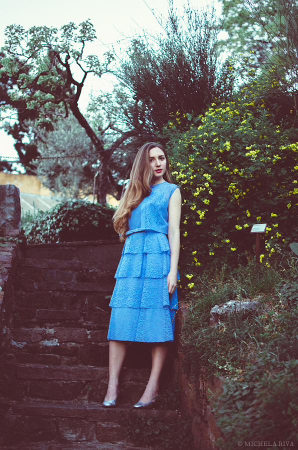 Serena at the Botanical Garden XVIII by Michela-Riva