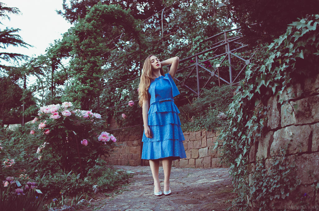 Serena at the Botanical Garden XIV by Michela-Riva