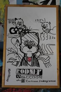 Rodney Raccoon again!
