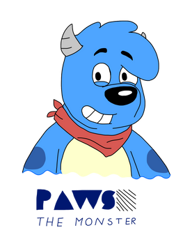 Paws the Monster (For Cartcoon)