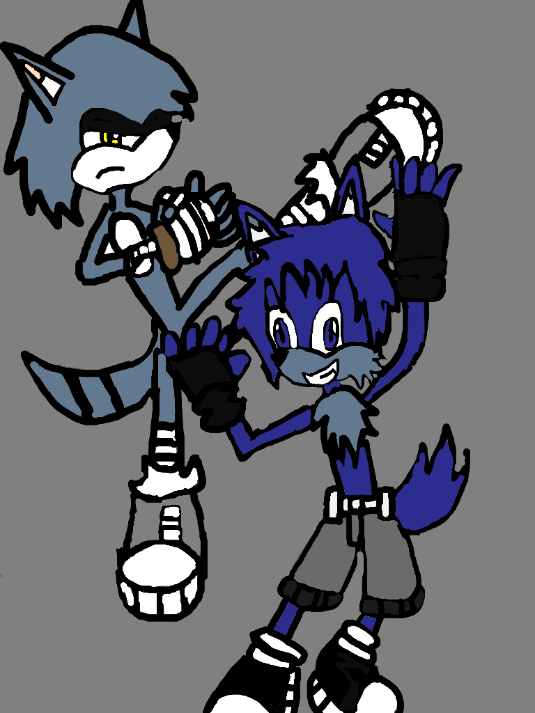 toby and jack sparring  (story in the discription) by ChunkyTheLunatic