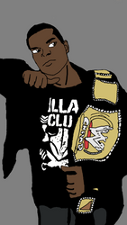 me as the champ by ChunkyTheLunatic