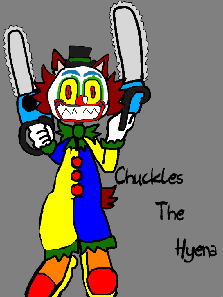 chuckles the hyena (bio in the description) by ChunkyTheLunatic