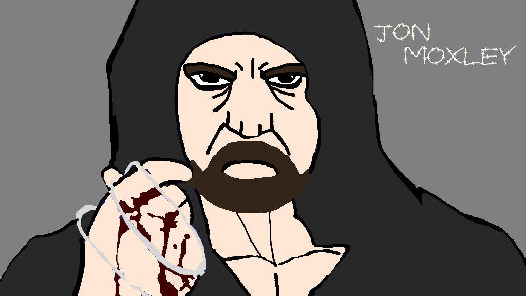jon moxley by ChunkyTheLunatic