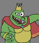 king k rool by ChunkyTheLunatic