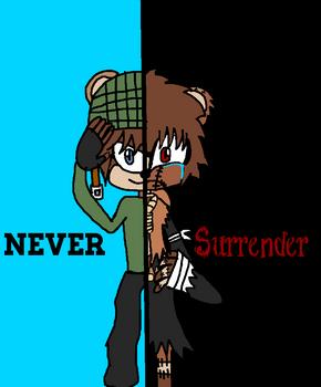 never surrender - sonic oc