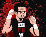 man in a box tommy dreamer - wrestling art by ChunkyTheLunatic