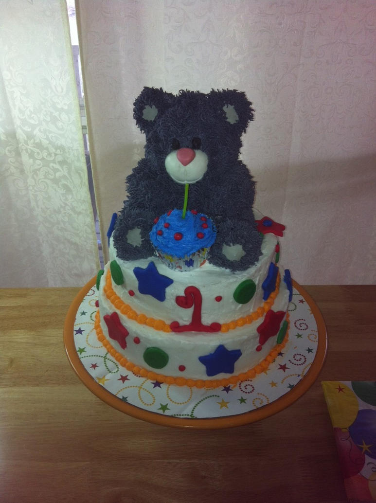 Robert Teddy Cake Artist : Teddy Bear Cake by raczow on DeviantArt