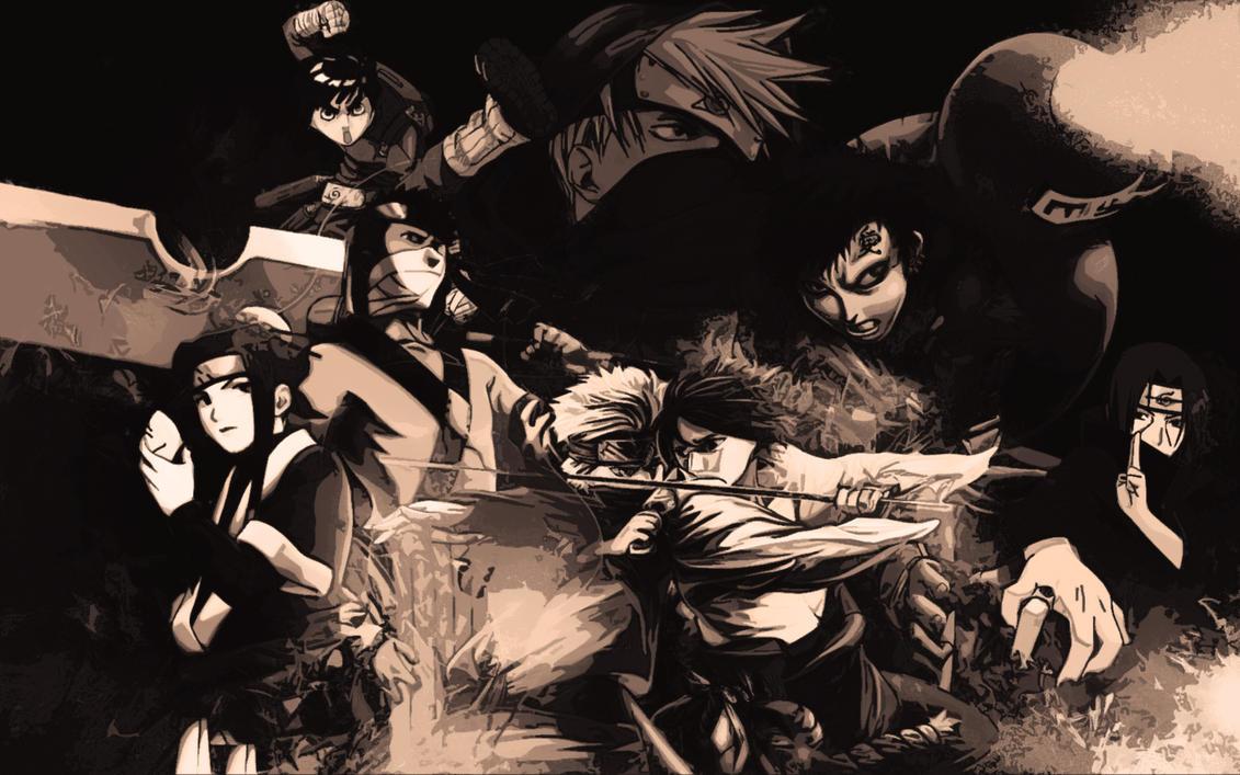Most Inspiring Wallpaper Naruto Art - naruto_wallpaper_by_gilfordart  You Should Have_885261.jpg