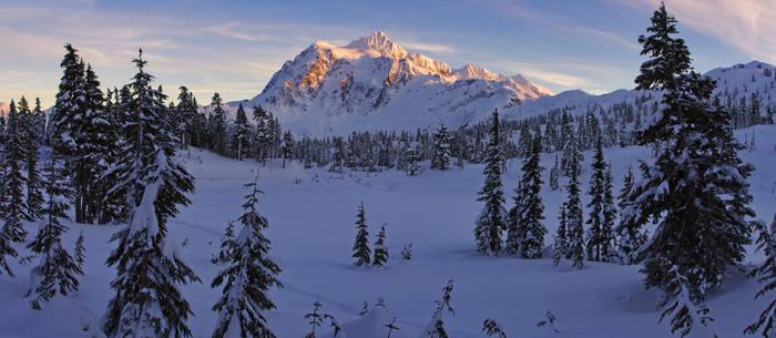 Shuksan Winter Wonderland
