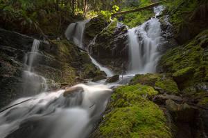 Cascade Creek Falls by jasonwilde