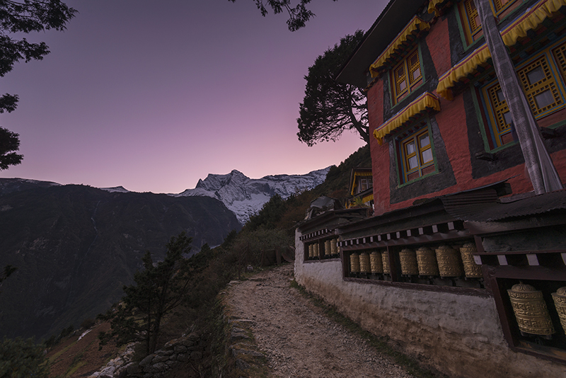 Namche Sunrise by jasonwilde