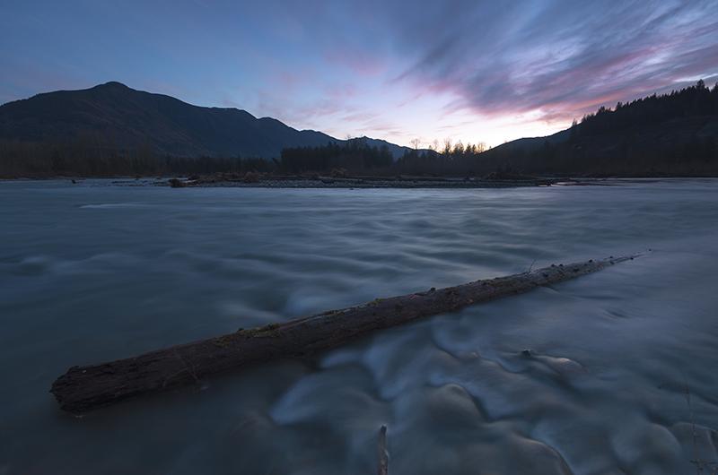 Chilliwack River Sunset by jasonwilde