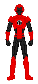Red Lantern Iron by TheVoid05