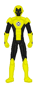Yellow Lantern Iron by TheVoid05