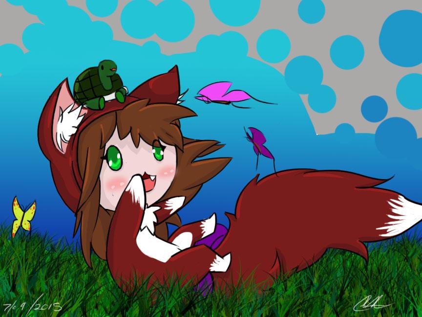 Sammy the fox by PixelDragonCreations