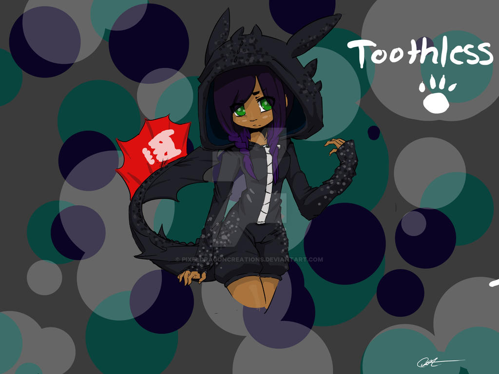 Toothless Parka by PixelDragonCreations