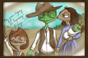 Rango, Bean, and Meet the fanbabies. by Draw4life