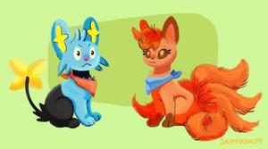 Team Sparkfire by SappyScarfy