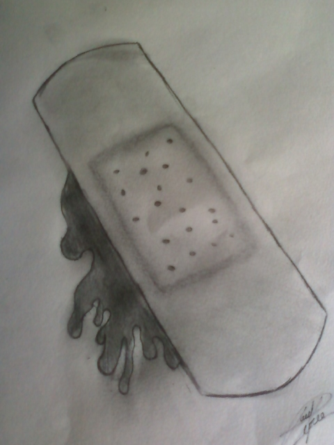 Band aid design by pt010189 on deviantart for Band aid tattoo