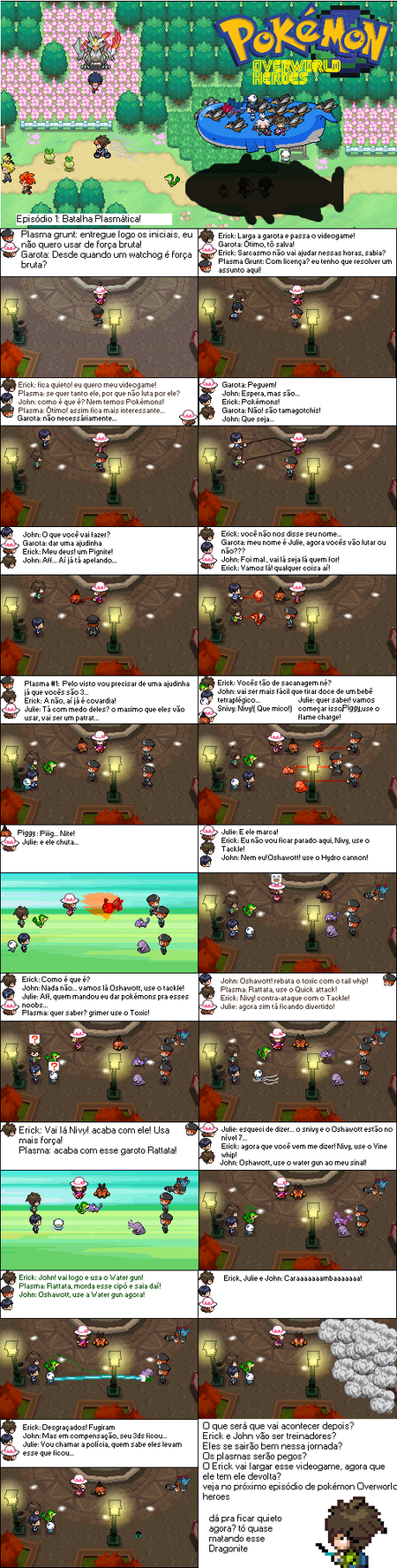 Pokemon Overworld Heroes #1: A plasmatic Battle! by Erick8530