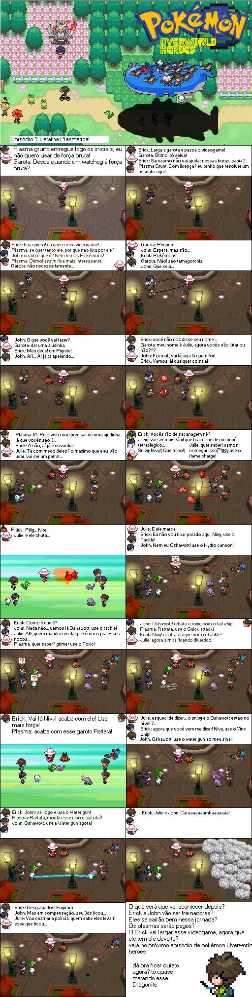 Pokemon Overworld Heroes #1: A plasmatic Battle! by Erick8530