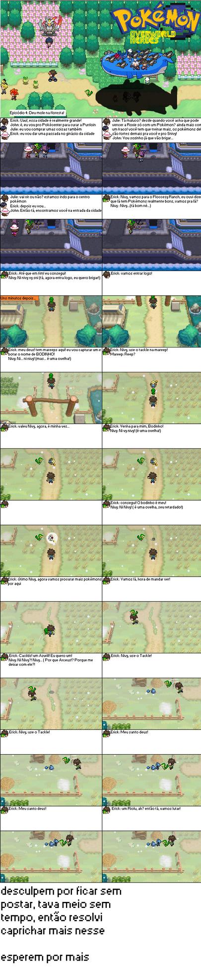 Pokemon overworld heroes #4 by Erick8530