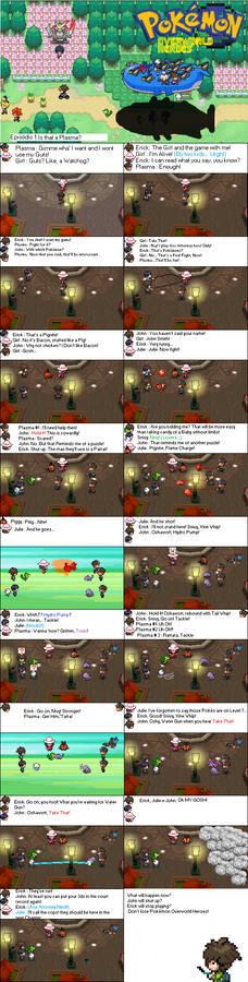 Pokemon Overworld Heroes  #1
