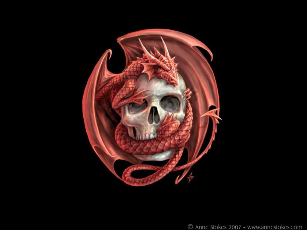 Dragon Logo Wallpaper Version By Waste84 On Deviantart