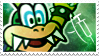 Iggy Koopa Stamp