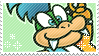 New Larry Koopa Stamp by WebbiSnekki