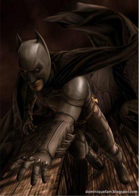 Batman by dominiquefam