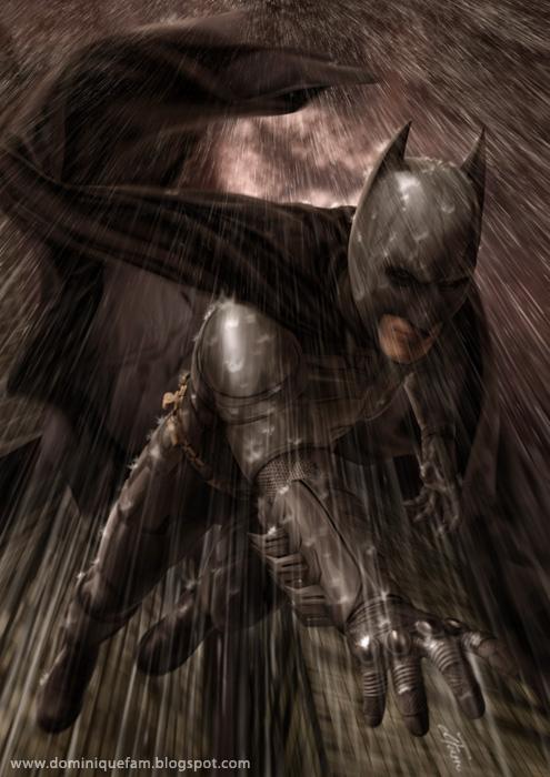 Batman in Gotham by dominiquefam