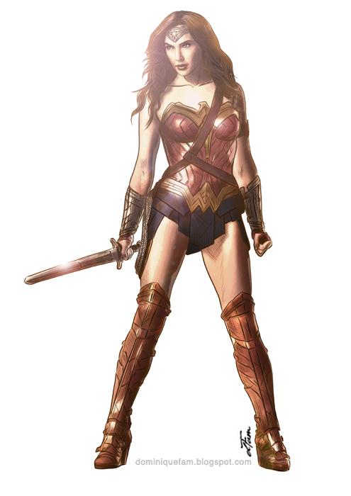Gal Gadot Wonder Woman by dominiquefam