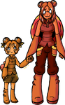 Pokemon Gijinka 046-047