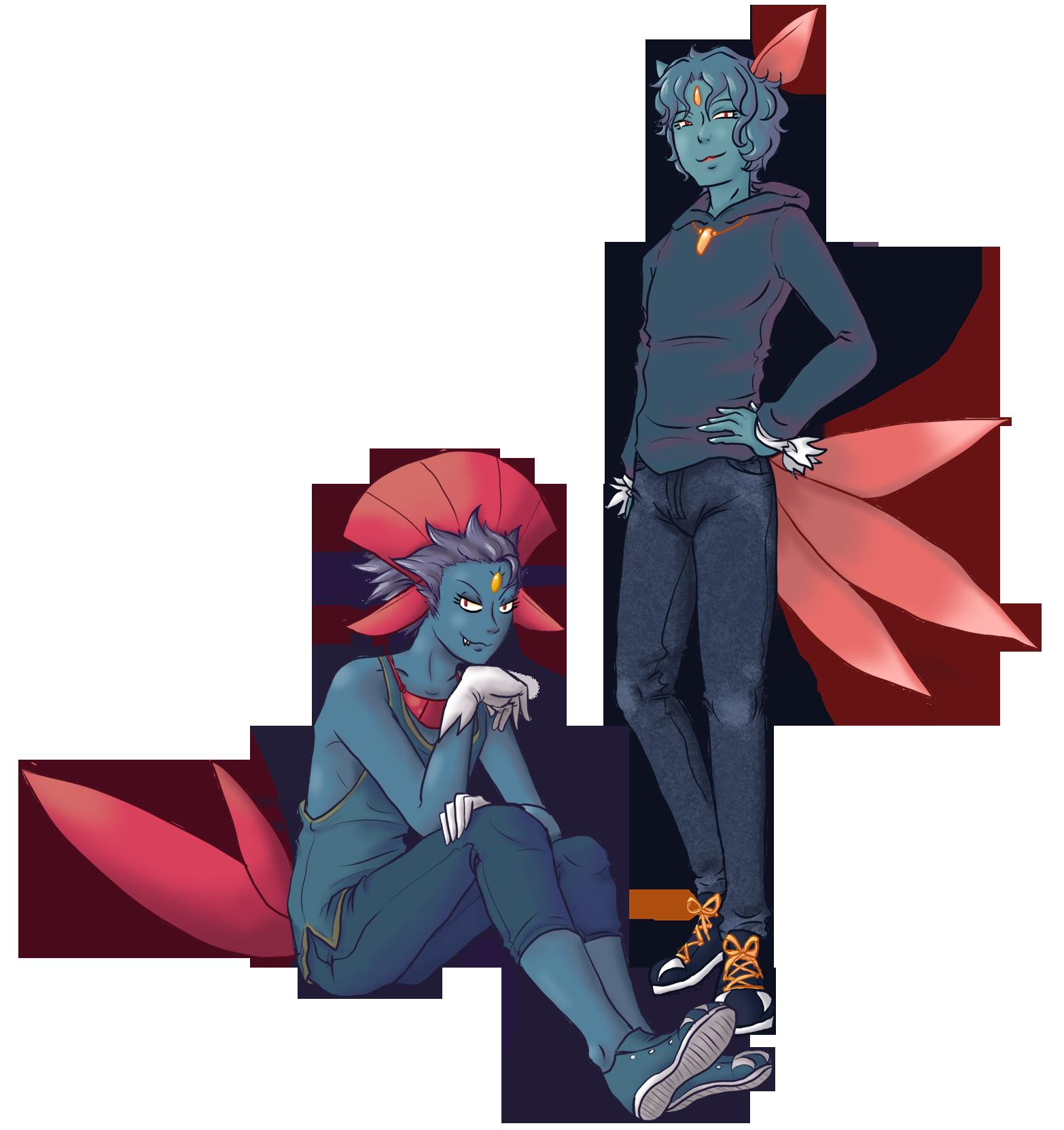 Pokemon Gijinka 215 461 by Akumabaka on DeviantArt