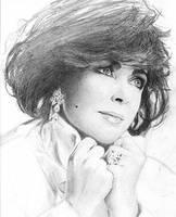 Elizabeth Taylor 4 by carmenharada