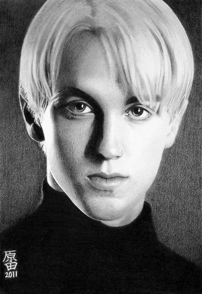Draco Malfoy by carmenharada