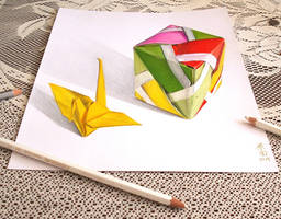3D 11 ORIGAMI by carmenharada