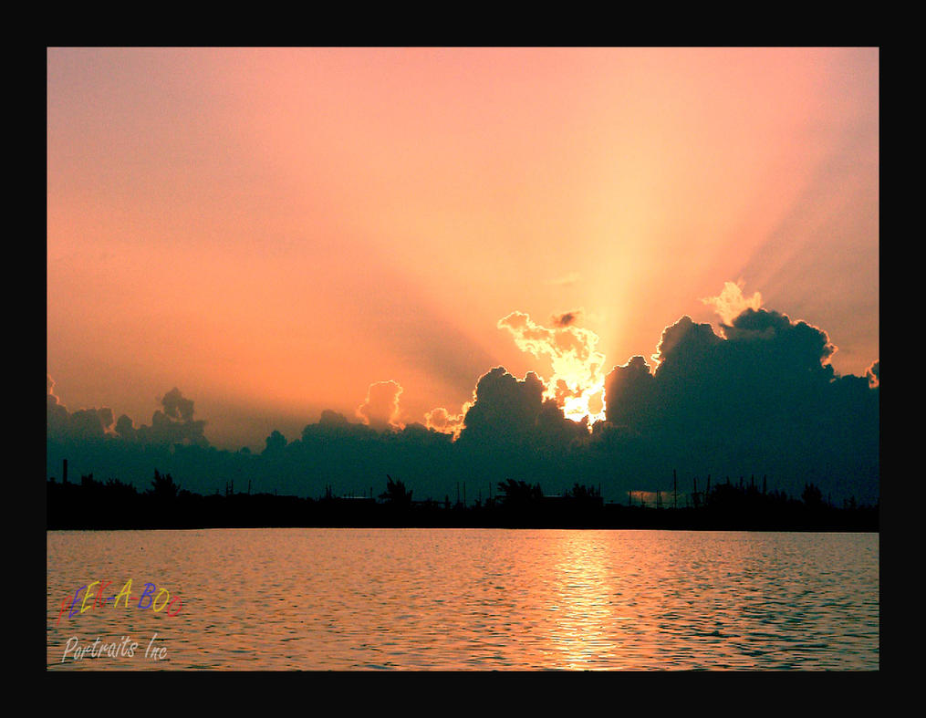 Sun Set Key West by Curim