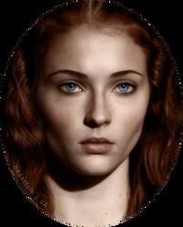 digital art | Sansa Stark #1 by beastfolk