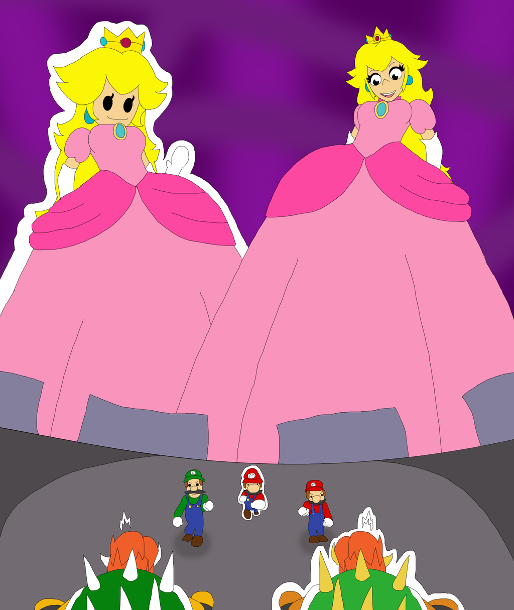 Twice The Princesses, Double The Giantesses By