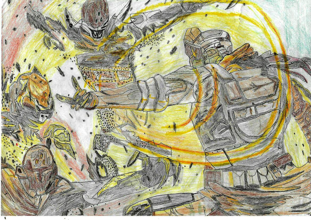 Warlock Sunsinger Destiny By Pedrortis