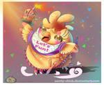 Run Run little chick! [ commission ] [ fnaf ]
