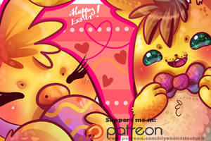 Springbonnica wish you an Happy Easter! [ Remake ] by Aunty-chick