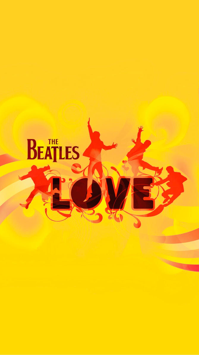 love (wallpaper for iphone/android) - the beatles