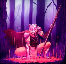Cyber Fluffy Warrior